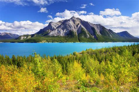 Abraham Lake, Canada, Alberta wallpaper