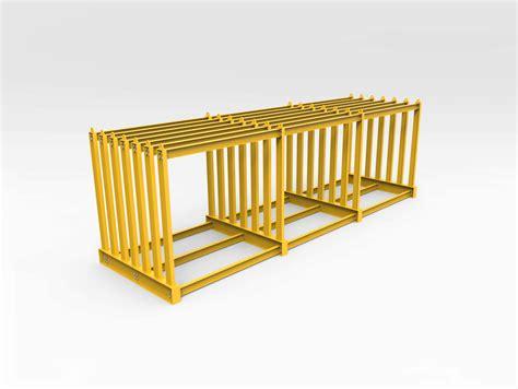 vertical storage rack steel plate bend tech group