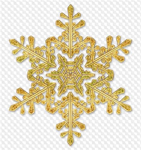Transparent Background Gold Snowflake Png by Png Snowflakes Background Impremedia Net