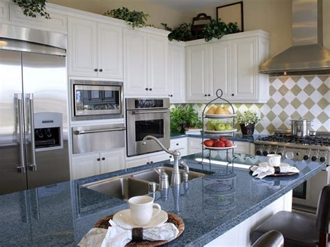 used kitchen cabinets and countertops blue cabinets white countertops pictures to pin on 8772