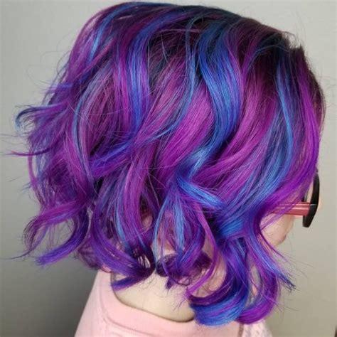 23 Incredible Examples Of Blue Purple Hair In 2020