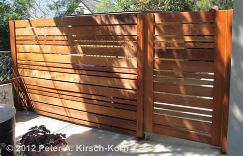 Los Angeles Wood Driveway Gates & Beautiful Entry Gates