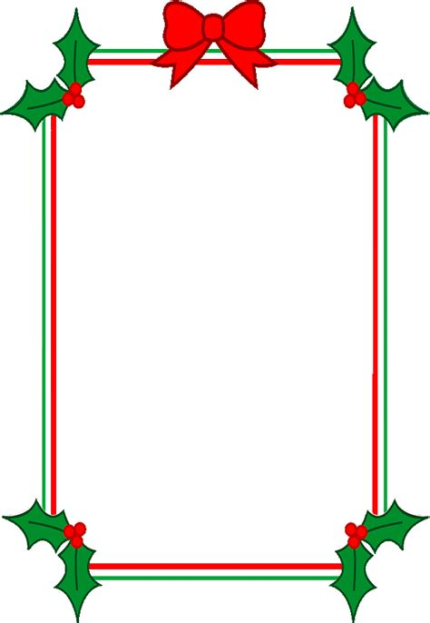 christmas clip art borders and frames