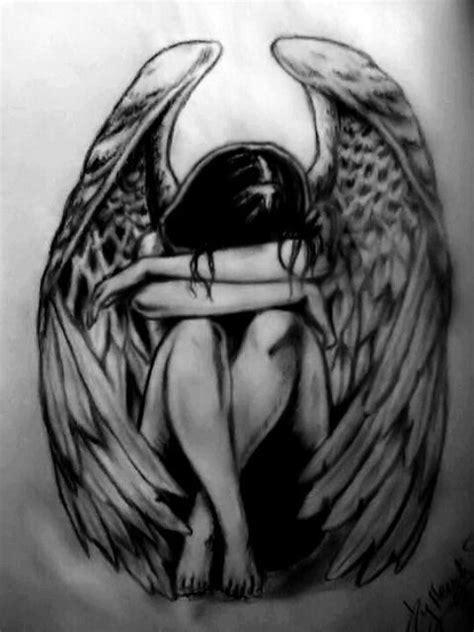 fallen angel tattoo ideas