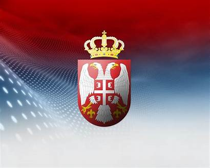 Serbia Wallpapers Symbol Serbian Serbien Flag Srbija