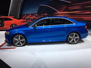 Audi Rs3 Sedan : 2017 nyias 2018 audi rs3 sedan marks first american rs3 ~ Medecine-chirurgie-esthetiques.com Avis de Voitures