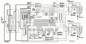 Electro Help  Microwave Oven Circuit Diagram Sharp Model R 1900j