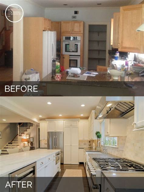 kitchen cabinets diy ben s kitchen before after pictures kitchens 2975