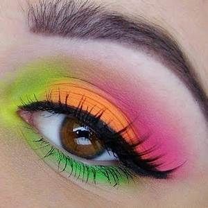 17 Best images about Neon eyeshadow on Pinterest