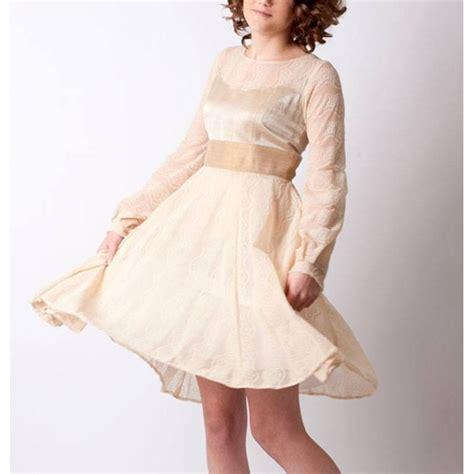 robe beige manche longue robe maille dentelle beige 224 manches longues et