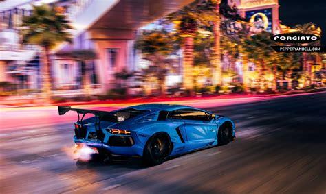 Liberty Walk Lamborghini Aventador Stuns In Las Vegas