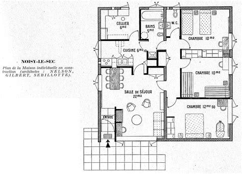 maison 5 chambres plan maison moderne 5 chambres