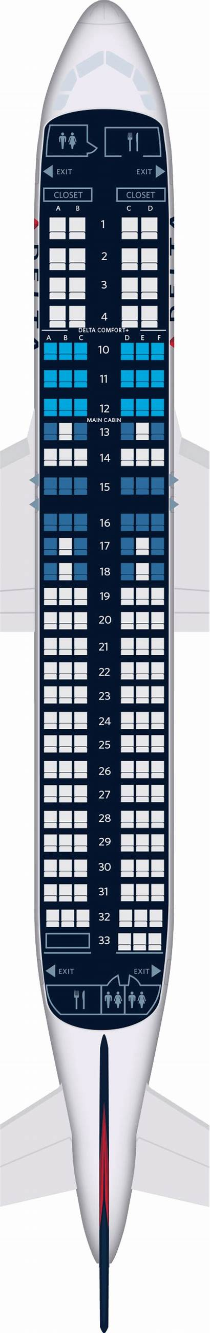Airbus A320 Aircraft Delta Seat Map 320