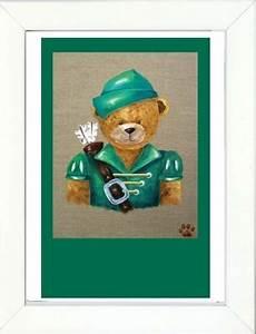 Tableau Enfant Bois : cadre enfant grand sissi ours robin des bois lili pouce boutique d co chambre b b enfants ~ Teatrodelosmanantiales.com Idées de Décoration