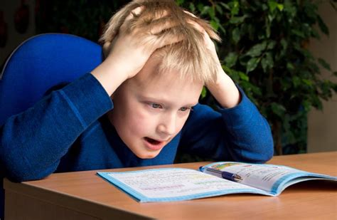 exergaming can improve executive function in children with 988 | boy child frustrated with homework adhd