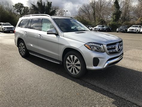 Its interior upgrades include ambient lighting, leather dashboard, special wood trim, and premium porcelain/expresso brown leather upholstery with stitched surfaces. New 2019 Mercedes-Benz GLS GLS 450 Sport Utility in ...