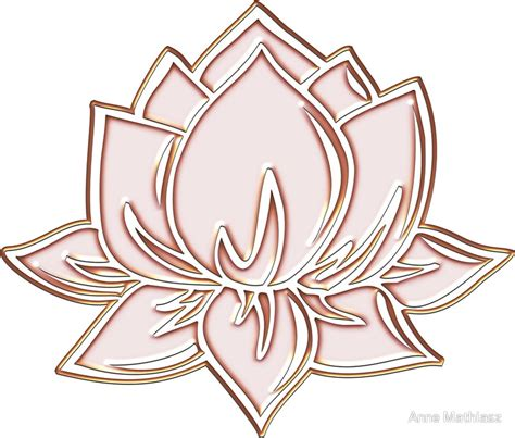quot lotus flower symbol wisdom enlightenment buddhism zen quot stickers by nitty gritty redbubble