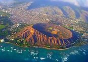 Travel Trip Journey : Diamond Head Crater, Hawaii