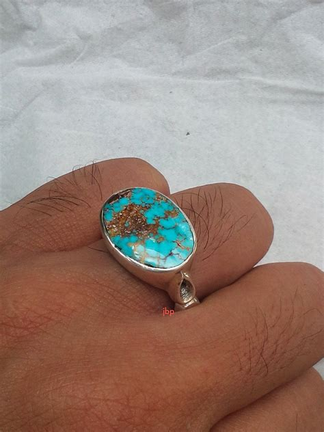 jual cincin unik pirus nayshabur biru serat emas asli import iran jualbatupirus com