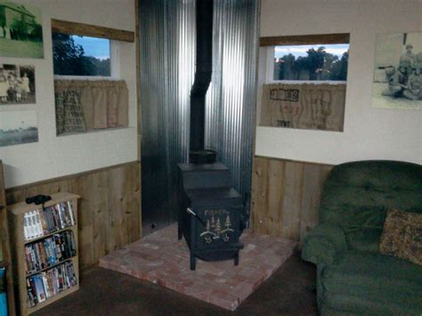 wood stove heat shield google search wood stove heat