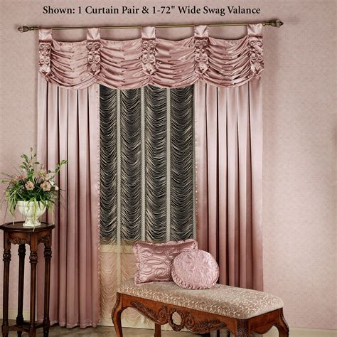 paris crepe satin curtains