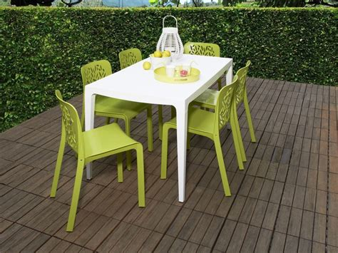 chaises de table ensemble table et chaise de jardin en plastique advice