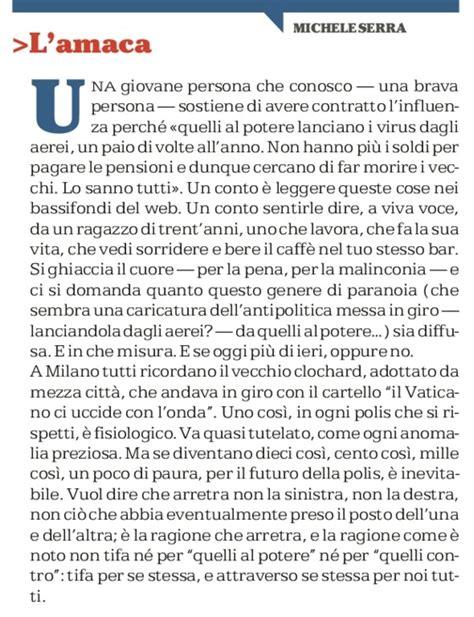 Amaca Repubblica by L Amaca Di Michele Serra L Amaca Di Oggi La Repubblica