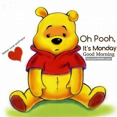 Pooh Morning Monday Oh Quotes Happy Lovethispic