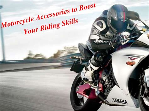 Motorcycle Accessories For Beginner Riders
