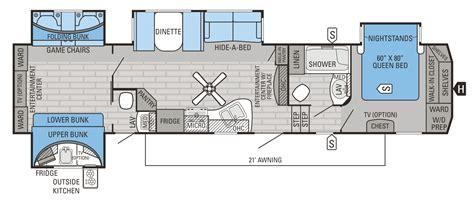 jayco fifth wheel bunkhouse floor plans fifth wheel bunkhouse floor plans meze