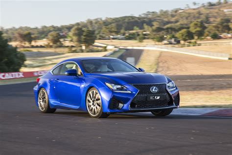 lexus rcf sedan news lexus rc f coupe pricing announced carshowroom com au