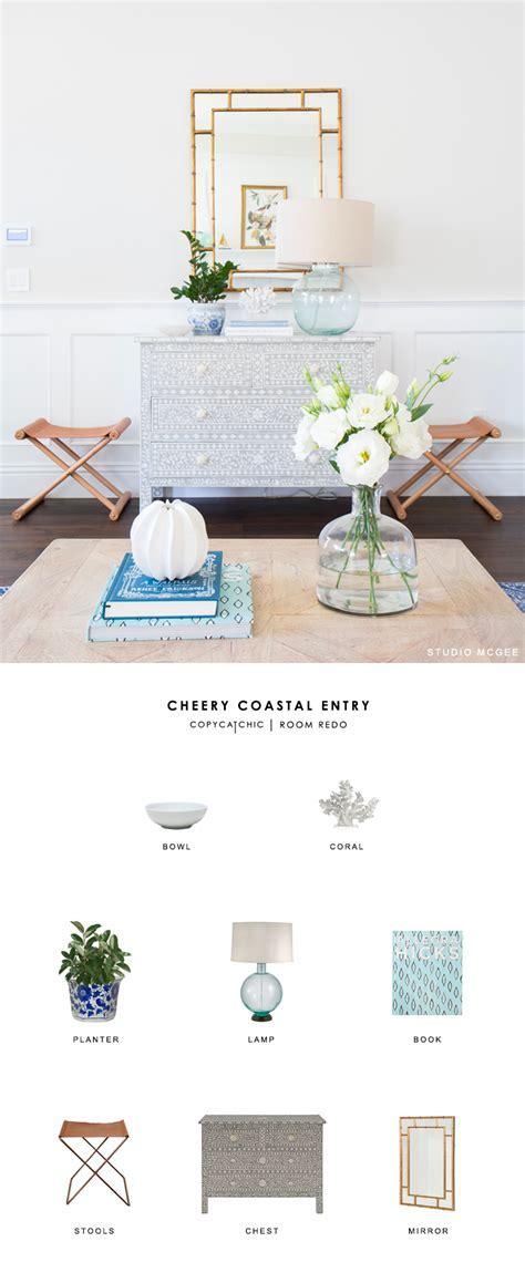 Copy Cat Chic Room Redo   Cheery Coastal Entry   copycatchic