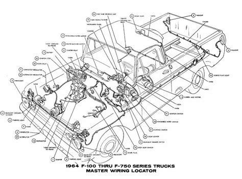 Ford Through Trucks Master Wiring Diagram