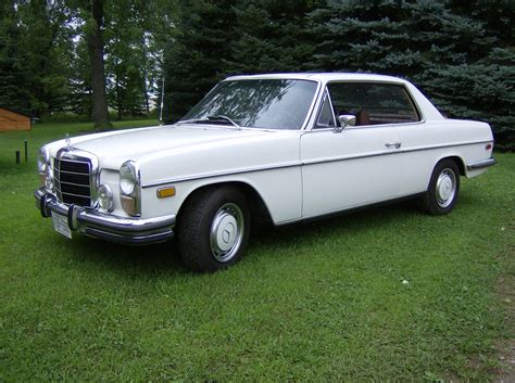 Hieduke, in north hollywood, to a mr. 1972 Mercedes-Benz 250C - Information and photos - MOMENTcar
