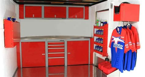 Enclosed Trailer Cabinets by Sportsman Ii Mobile Enclosed Lightweight Trailer