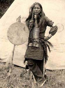 Little Finger Sioux Warrior Photographed In 1898 By