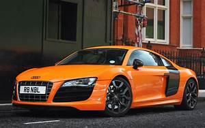 Orange Audi R8 Wallpaper HD Car Wallpapers ID #2978
