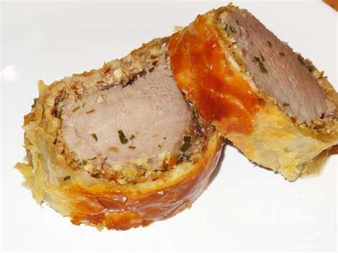 cuisiner un filet mignon de porc au four filet mignon de porc de plein air en croûte aux noix et