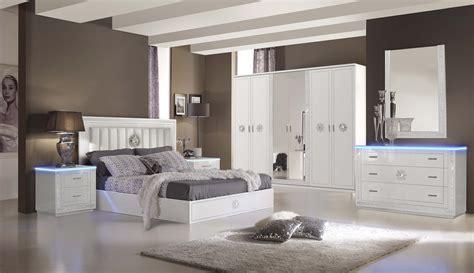 schlafzimmer set cristal  weiss modern design kaufen