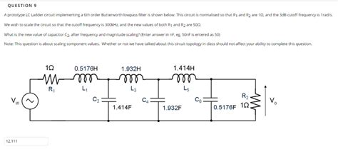 Solved Prototype Ladder Circuit Implementing