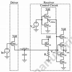 Schematic Of The Transceiver Circuit With Modified