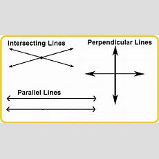 What Are Intersecting And Perpendicular Lines? Quora