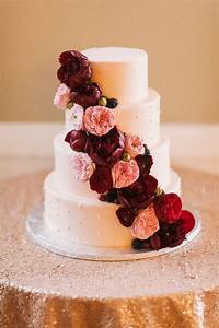 Top 20 Burgundy Wedding Cakes You U0026 39 Ll Love