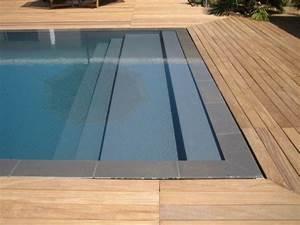 Plage escaliers piscine miroir avec terrasse en bois Pool Pinterest Swimming pools, Pool