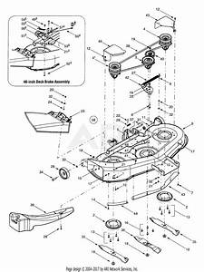 Mtd 13an607h352  2001  Parts Diagram For Deck Assembly  U0026quot H U0026quot