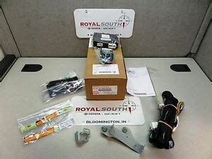 Toyota Tundra Remote Engine Start Res Genuine Ebay