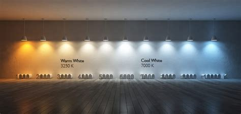 cool white warm white colors why use them