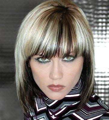 two color hair styles two tone hair color ideas for hairstyle for