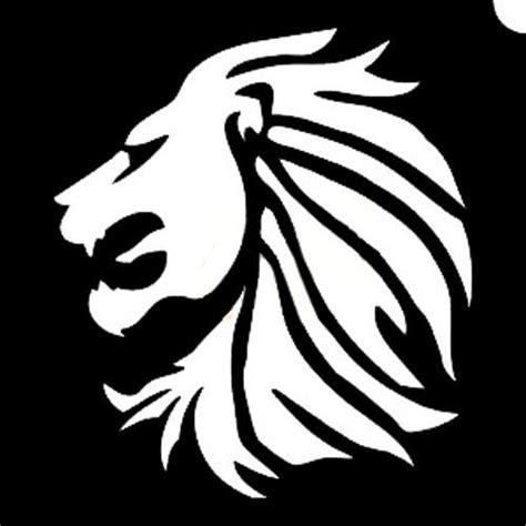 Lion Stencil Lion Images Blur Background In Photoshop