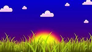The Introduction of the Cartoon Sunrise Animation - YouTube
